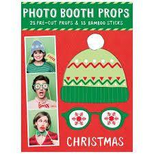 Resultado de imagen para christmas photo booth props