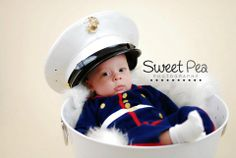 USMC - Marines - Devil Dogs - Leathernecks - Grunts - Jarheads - Semper Fi - Marine Love - Oorah Marine Baby, Marine Love, Military Baby Pictures, Military Love, Newborn Photos, Pregnancy Photos, Baby Photos, Baby Bug, Marines Girlfriend