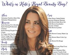 Ever wondered what beauty products Kate Middleton uses? Here are your answers.