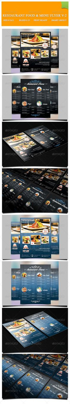 Restaurant Food & Menu Flyer Template PSD | Buy and Download: http://graphicriver.net/item/restaurant-food-menu-flyer-v2/8183960?WT.ac=category_thumb&WT.z_author=GreenPixi&ref=ksioks