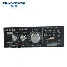 High Quality Amplificador Hi-Fi Audio Mini Power Amplifier HiFi Stereo Car Audio Amplifi Car Audio Amplifier, Hifi Stereo, Hifi Audio, Fi Car Audio, Usb, Mini, Audio Sound, Blog, Tips