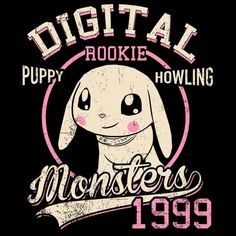 Puppy Howling T-Shirt $12.99 Digimon tee at Pop Up Tee!