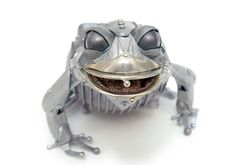 Steampunk Animals Sculptures by Edouard Martinet | Daily Cool
