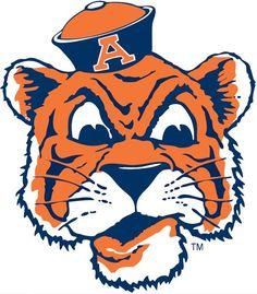 163 best auburn tigers football gift ideas images on pinterest rh pinterest com Auburn University Logo Auburn Tigers Aubie