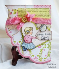 Thoughts of a Cardmaking Scrapbooker!: Crafty Secrets & Eclectic Paperie Blog Hop!