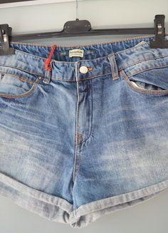 Kup mój przedmiot na #vintedpl http://www.vinted.pl/damska-odziez/szorty-rybaczki/13840502-pullbear-spodenki-boyfriend-jeansowe-nowe