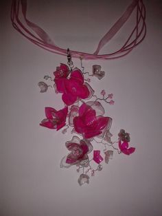 Twisted Wire and PET Bottle Flowers
