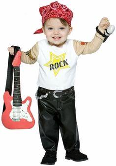 Baby Rock Star Costume - Toddler Future Rock Star Costume