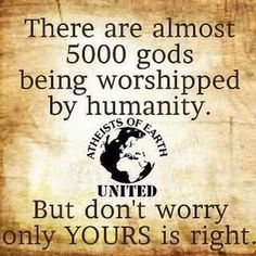 The pure insanity that is religion! It will be the ruination of the entire world!