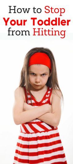 Most toddlers will hit. It's a normal part of development. Here are a few tips for how to stop your toddler from hitting. | toddler development | toddler behavior | parenting | parenting toddlers | surviving toddlerhood | managing the terrible twos Parenting Toddlers, Parenting Books, Parenting Advice, Parenting Styles, Toddler Behavior, Terrible Twos, Toddler Development, Autistic Children, Parent Resources