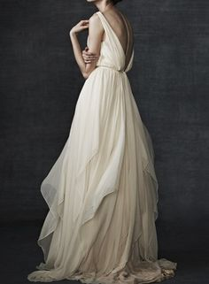 Samuelle Couture gown...something about the flowyness of this gown...