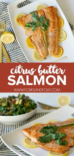 Citrus Butter Salmon