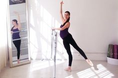 Mary Helen Bowers: Working out while pregnant. #balletbeautiful #balletbaby