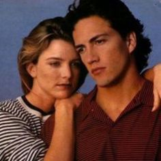 Alison y Billy Courtney Thorne Smith, Andrew Shue, Beverly Hills, Billy Campbell, Amanda, Cw Series, Melrose Place, Movie Couples, Classic Series