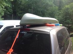 Car top kayak rack for around ten bucks outdoors pinterest car top kayak rack for around ten bucks solutioingenieria Images