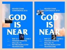 Heaven Come Poster design