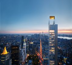 Gallery of A New Giant Sets Foot in NYC: Meganom's Skyscraper Design Unveiled - 1