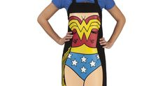 Wonder Woman Apron that I can't wait to have one day.