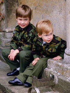 Princes William (Duke of Cambridge) and Harry of Wales