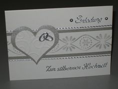 Einladungskarten Silberhochzeit Modern