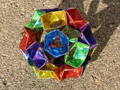 folded crystals