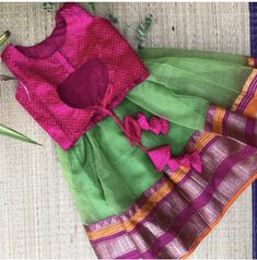 Lehenga Designs, Saree Blouse Designs, Baby Girl Dresses, Kids Fashion, Women's Fashion, Kids Wear, Kids Blouse Designs, Baby Frocks Designs, Kids Dress Patterns