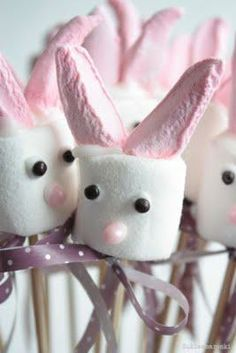 Marshmallow bunnies