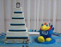 KU Jayhawk Groom's Cake