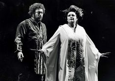 Luciano Pavarotti and Montserrat Caballé in Turandot, San Francisco 1977.