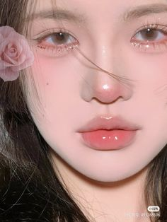 Hazel Green Eyes, Makeup Kit, Makeup Ideas, Long Lasting Lipstick, Anime Girl Cute, Aesthetic Makeup, Septum Ring, Facial, Make Up