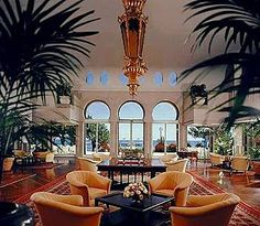 The Excelsior, Venice Lido Resort Italy  Lounge View