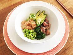 Poké bowl met zalm en tonijn - Chef Ernst