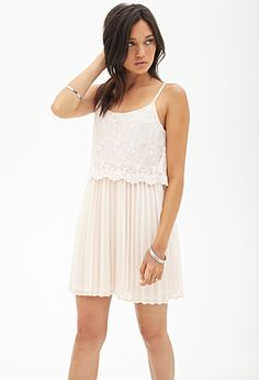 Embroidered Chiffon Dress | FOREVER 21 - 2000121483