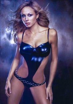 - Stacy Keibler - Very Sexy Wallpapers x 6 (Part Three) - 3 of 6 Stacey Keibler, Wrestling Divas, Wwe Womens, One Piece Bikini, Bikini Photos, Beautiful Models, Sensual, Bellisima, Female Models