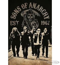 Sons of Anarchy Poster Reaper Crew Hier bei www.closeup.de