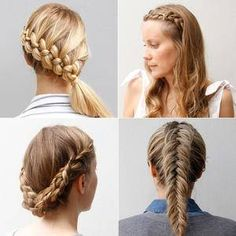 Spice up your everyday hair routine using one of these amazing braided hairstyles by Ulrika Edler, our go-to hair guru of Yet Another Beauty Site. With everything from fishtails to updos to lace braids and beyond, you'll find a tutorial that suits your hair and your braiding ability with this ultimate guide.