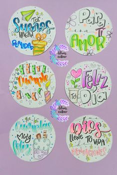 Lettering Tutorial, Birthdays, Banner, Doodles, Bullet Journal, Stickers, Cards, Diy, Ideas