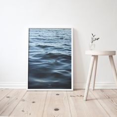 feet in the WATER A3 Artprint Poster by studionahili