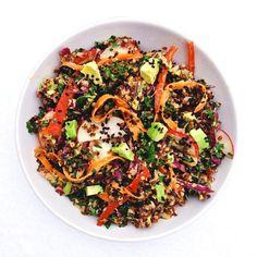 (RECIPE) Thai Quinoa Bowl