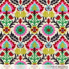 Waverly Santa Maria Desert Flower Fabric  par OnlineFabricStorenet
