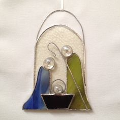 Stained+Glass+Ornament++Nativity+by+MamaAgees+on+Etsy,+$14.00