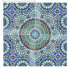 Gorgeous 24 x 24 Moroccan Tile
