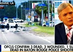 """HAPPENING RIGHT NOW: 3 police officers in Baton Rouge have been assassinated by a """"masked man"""" dressed in black. Multiple other officers are wounded and fighting for their lives in the hospital. Click link to see live stream of what's happening on the ground in #BatonRouge #BlueLivesMatter http://www.nowtheendbegins.com/3-baton-rouge-cops-assassinated-military-style-attack-masked-man-dressed-black/"""