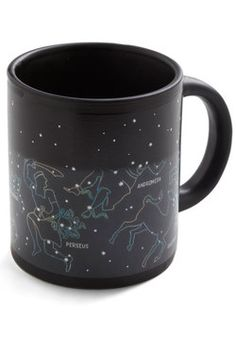 Teach everyone at the table about the celestial landmarks that they'll spy in tonight's clear sky by pouring your piping-hot beverage into this stellar mug!