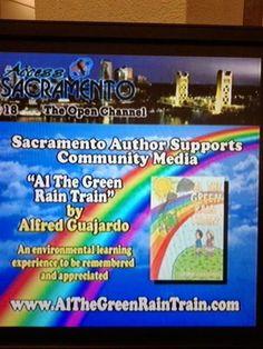 "Al's Poem Zone: ""Sacramento Author Supports Community Media"" ( yes ""Al the Green, Ra...)"