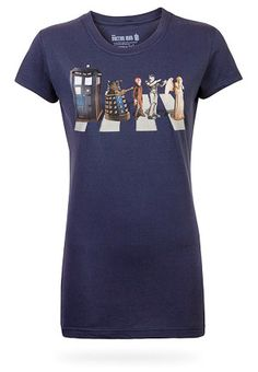 doctor who womens tee abbeyroad