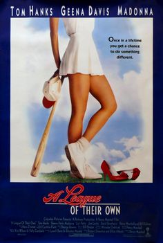 """""""Once in a lifetime you get a chance to do something different. """" A League of Their Own (1992) #movieshumansshouldwatch #movies"""
