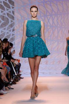 Défilé Zuhair Murad Haute Couture automne-hiver 2014/2015 Fashion Week Paris #zuhairmurad