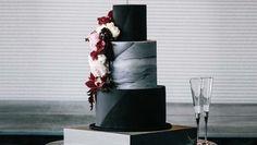 Fekete és kaktuszos: ezek az esküvői torták lesznek trendik 2018-ban