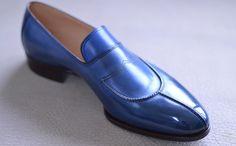 Handmade Men Two tone Shoes, Men spectator shoes, Men formal shoes, Men shoes Blue Shoes, Men's Shoes, Shoe Boots, Dress Shoes, Shoes Men, Men Dress, Spectator Shoes, Cowboy Shoes, Gentleman Shoes